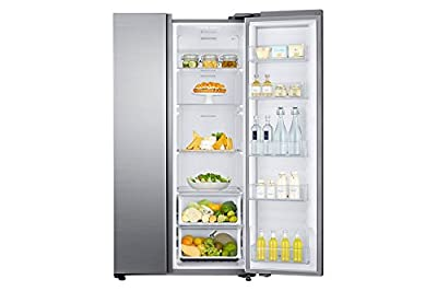 Samsung RH80J81323M/TL Frost-free Side-by-Side Refrigerator (868 Ltrs, Matiere Real Stainless)