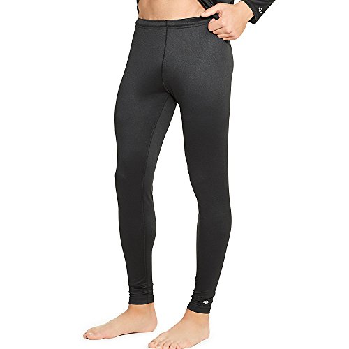 Duofold Men's Mid Weight Varitherm Thermal Pant, Black, Medium (Mens Spandex Thermal Underwear compare prices)