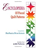 Encyclopedia Of Pieced Quilt Patterns (0891458158) by Brackman, Barbara