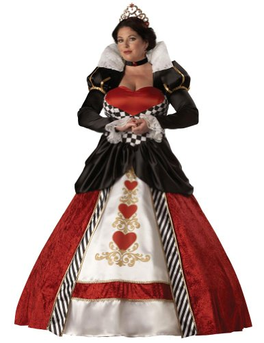 Adult-Costume Queen Of Hearts Adult 3Xlg Halloween Costume