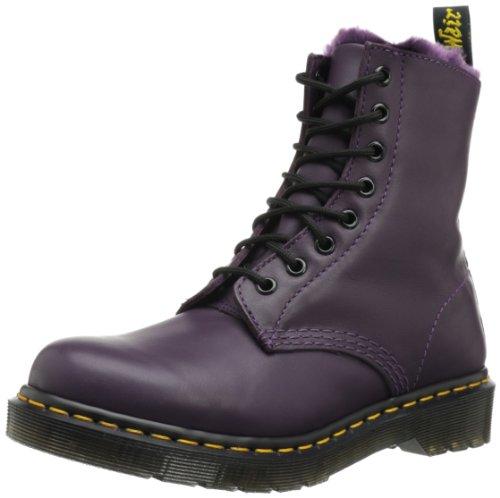 Dr. Martens SERENA Cartegena PURPLE Ankle Boots Womens Purple Violett (purple) Size: 6.5 (40 EU)