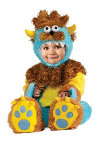 Infant Halloween Costumes: Unisex Blue Monster Costume
