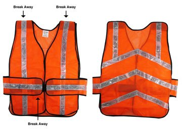 SE Safety Vest with Reflective Strap