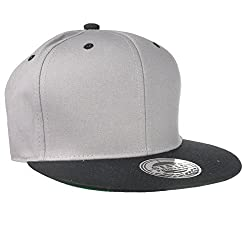 Hip Hop Snapback Cap Grey