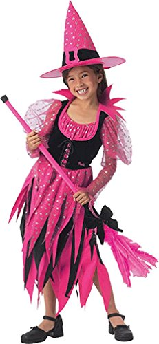 Child Witch Costume - Sorceress Barbie - Small