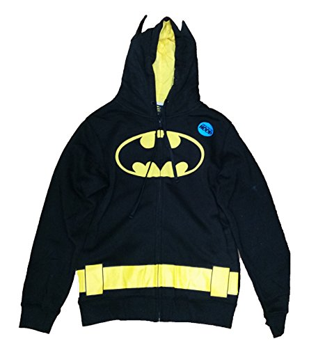 DC Comics Batman Dark Knight Costume Licensed Graphic Hoodie