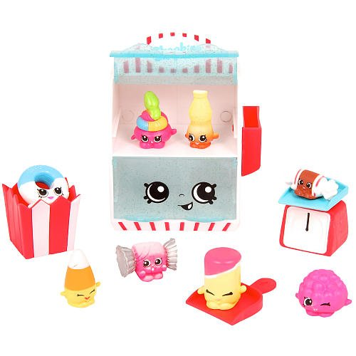 Shopkins Candy Collection Season 4 Food Fair Playset w/ 8 Exclusives