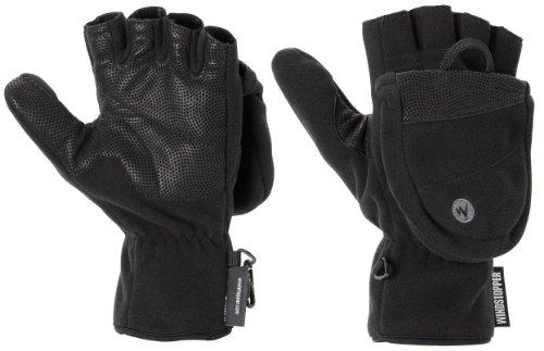 diversifié dans l'emballage prix modéré le dernier Homme Gants: Marmot Windstopper Moufles/mitaines Homme noir XL