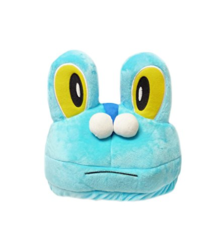 [Pokemon: Froakie Water XY Starter Costume Hat] (Pokemon Character Costumes)