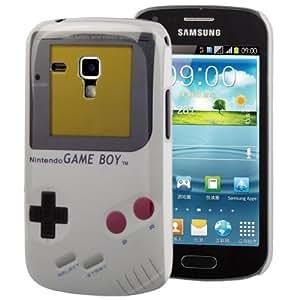 R-Tech24 Coque de protection rétro pour Samsung Galaxy Trend Duos S7562 Motif Game Boy