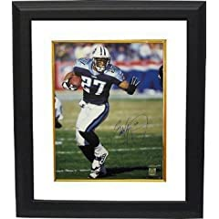 Eddie George Autographed Hand Signed Tennessee Titans 16X20 Photo Custom Framed-... by Hall of Fame Memorabilia