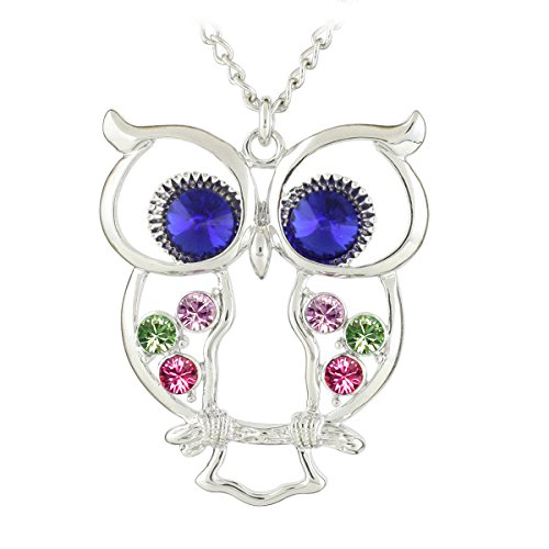 le-premiumr-crystal-colorful-wings-owl-pendant-long-chain-necklace-with-dark-blue-crystal-eyes