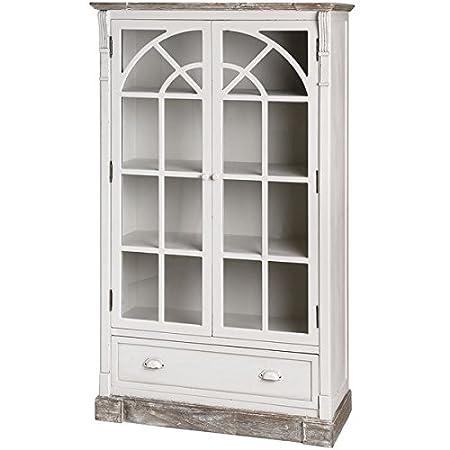 New England Glazed Display Cabinet