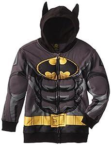 DC Comics Boy's 8-20 Batman Puffed Hoodie at Gotham City Store
