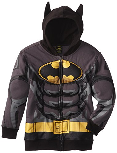 DC Comics Boy's 8-20 Batman Puffed Hoodie at Gotham City Store