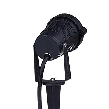 LEMONBEST® 2pcs Bright Outdoor Landscape LED Lighting 12V DC Garden Path Pond Light Spot Light Bulb Warm White