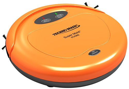 Techko Maid Rv668 Super Maid Vacuum, Orange front-7594