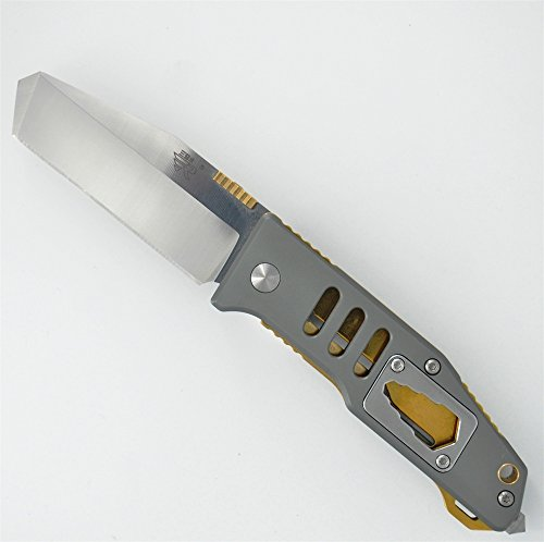 Sanrenmu 7046Lte-Lkr Folding Knife Aluminum Handle Srm High Quality Tanto Blade Spanner Glass Breaker Multi-Function Tools Cool Gift