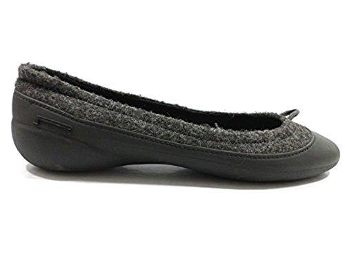 scarpe donna PIRELLI 36 EU ballerine tessuto gomma grigio WH914