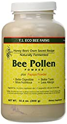 Naturally Fermented Bee Pollen Powder- 10.6 oz