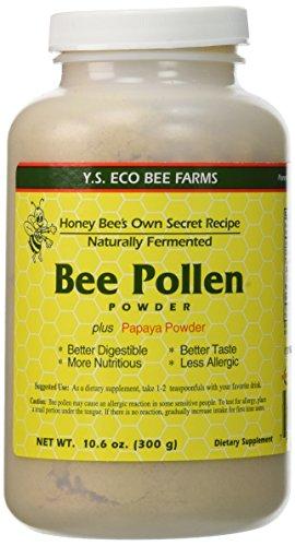 Naturally Fermented Bee Pollen Powder- 10.6 oz