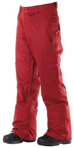 DC Men's Banshee 13 Pant, Biking Red, X-Large DC B00757R8T2