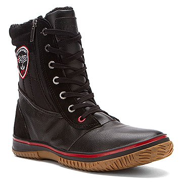 PAJAR, Men's Trooper Warm Lined Snow Ankle Boots - Black (US 9 (EU 42))