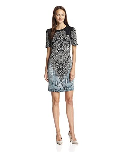A.B.S. by Allen Schwartz Women's Printed Knit Bodycon Dress