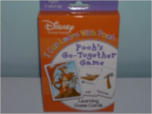 Winnie The Pooh's Go Together Learning Card Game - 1