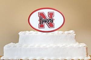 Buy NCAA Nebraska Cornhuskers Desk Logo Art by Fan Creations