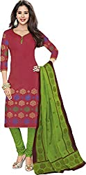 Pranjul Women'S Cotton Unstitched Dress Material (Multi-Coloured) (PA408)