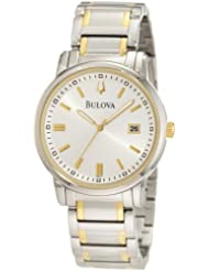 Bulova Men's 98B157 Highbridge Classic two tone Watch