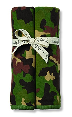 Mud Pie Receiving Blanket, Camo