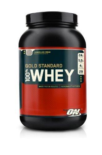 Optimum Nutrition 100% Whey Gold Standard Cookies & Cream 2Lb