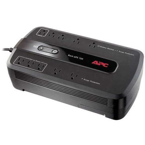 APC Power Saving Back-UPS 750 - BE750G - 450Watts / 750VA with New 12v Battery, 1 Year Warranty (Prepared by ReCircuit) (Apc Ups 450 Battery compare prices)