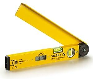 Stabila Messgeräte 17142 Winkelmesser mit Digitalanzeige AWM Digital 34 cm  BaumarktBewertungen