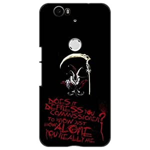 a AND b Designer Printed Mobile Back Cover / Back Case For Huawei Nexus 6P (Nexus_6P_3D_1940)