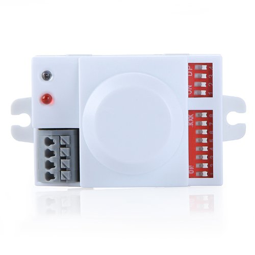 Chicho 220V Microwave Motion Sensor Switch Doppler Radar Wireless Module Energy Saving