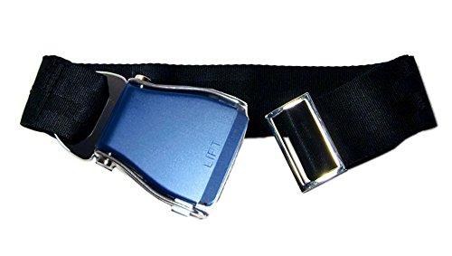 skybelt-flugzeuggurtel-bleu-noir