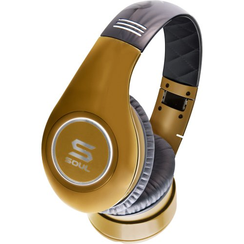 SOUL by Ludacris SL300GG High Definition Noise Canceling Headphones (Gold)