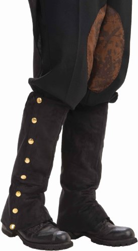 Men's Adult Steampunk Suede Spats
