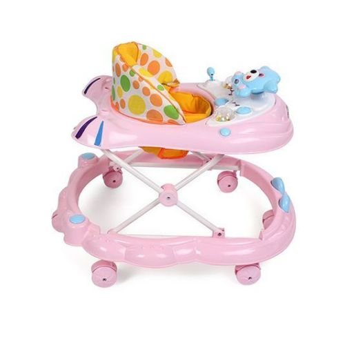 Baby Walker with Wheels – Pink