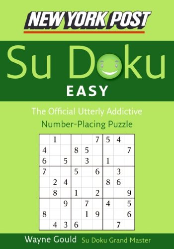 York Post Easy Sudoku Number Placing