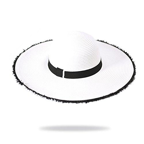 Grande cappello a tesa larga/Cappelli Derby/Ping cappello da sole, sole/Cappelli di vacanza/Cappelli della spiaggia-B