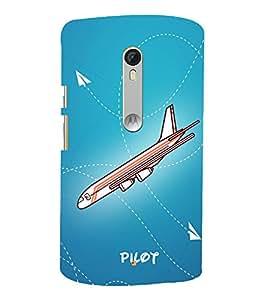 Pilot Flight Landing 3D Hard Polycarbonate Designer Back Case Cover for Motorola Moto G3 :: Motorola Moto G (3rd Gen)