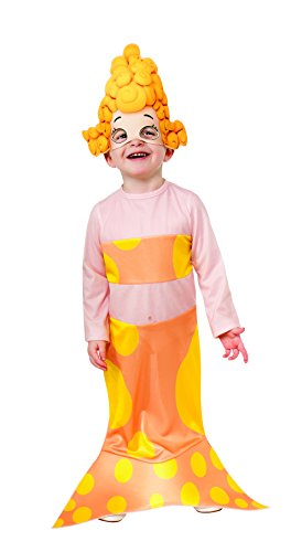 Rubies Bubble Guppies Deema Costume, Toddler Size front-1038819