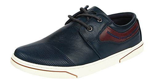Spunk-Men-Synthetic-Leather-Low-Top-Shoes