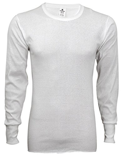 Indera Men's Cotton 1 x 1 Rib Top