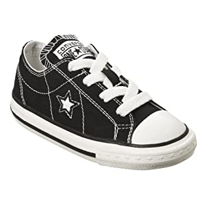 Toddlers' Converse® One Star® Oxford - Black