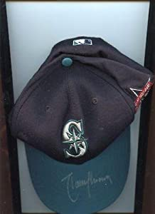 1997 Randy Johnson Seattle Mariners Autographed All Star Cap LOA - Autographed MLB... by Sports+Memorabilia